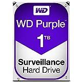 WD HDD 内蔵ハードディスク 3.5インチ 1TB WD Purple 監視カメラ用 WD10PURZ SATA6Gb/s 64MB 3年保証