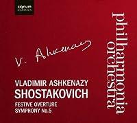 Festive Overture Op 96 / Sym 5 in D Major Op 47 by DIMITRI SHOSTAKOVICH (2008-11-25)