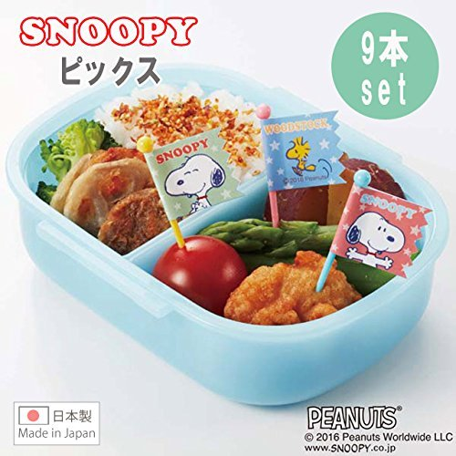 お弁当 ピック スヌーピー ピックス 9本入 PN-1