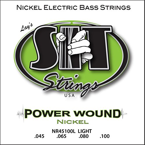 SIT STRINGS エスアイティストリングス エレキベース弦 PowerWound  ロングスケール LIGHT NR45100L   .045-.100 【国内正規品】