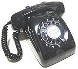 電電公社 600-A ダイヤル式電話機 (黒電話/カラー電話) (くろ)