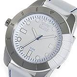 アディダス 腕時計 (アディダス)adidas 腕時計 Originals 1969 SS WHT LTHR ADH3036 48mm ホワイト×シルバー メンズ レディース [並行輸入品]