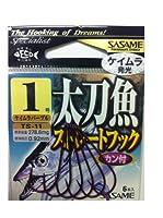 ささめ針(SASAME) TS-11太刀魚ストレート ケイムラパープル 1