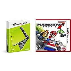 Newニンテンドー3DS LL ライム×ブラック + マリオカート7 - 3DS セット