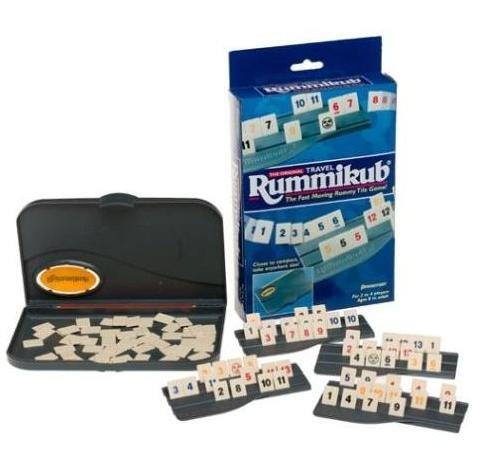 ラミィキューブ 【トラベルタイプ】(1980年にはドイツ年間ゲーム大賞を受賞の世界的ゲーム) Travel Rummikub ポケッタブル 人気 ボードゲーム 簡単 旅行 家族 【並行輸入品】 ラミィ
