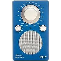 Tivoli Audio Bluetoothワイヤレス AM/FMラジオスピーカー PAL BT ブルー/ホワイト PALBT-1772-JP