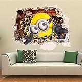 「TALCID 3D ミニオンズ ウォールステッカー 壁飾り」のサムネイル画像