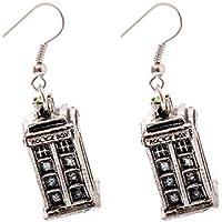 Doctor Who - Tardis Earrings by YZAM [並行輸入品]
