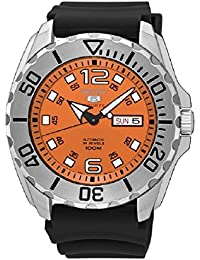 セイコー セイコー5 自動巻き メンズ 腕時計 SRPB39K1 オレンジ [並行輸入品]