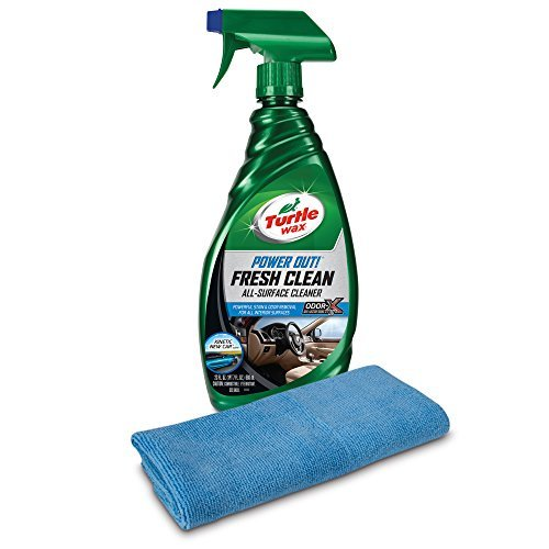 Turtle Wax 50826 Power Out! Fresh Clean All-Surface Cleaner Kinetic with Microfiber Towel [並行輸入品]