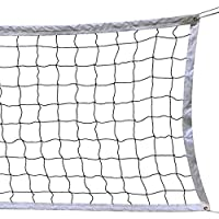 Milky House Volleyball Net Volleyball Replacement Net for Outdoor or Indoor Sports Backyard Schoolyard Pool Beach (9.8m x 0.9m) Poles Not Included