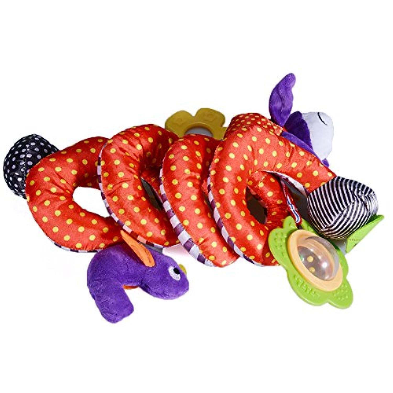 エレガントで美しいベビーハンド ガラガラガラのおもちゃ 多機能ベビーベッド スパイラルアクティビティトイ
