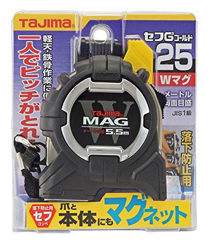 タジマ セフG3ゴールドダブルマグ25 5.5m 25mm幅 メートル目盛 CWM3S2555