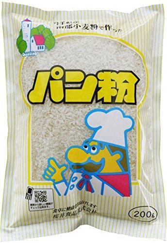 桜井食品 パン粉 200g×20袋