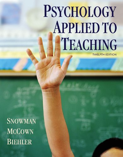 Download Psychology Applied to Teaching 0618968563
