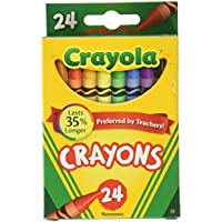 Crayola 52 – 3024 24パッククレヨン 12 52-3024