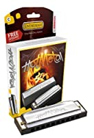 Hohner 572BX-A Hot Metal Harmonica Key of A [並行輸入品]