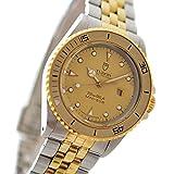 TUDOR(チュードル) ミニサブ アンティーク ボーイズ腕時計 (中古) 73091 自動巻き 18KGP/SSコンビ ゴールド文字盤 デイト機能 [並行輸入品]