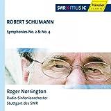 シューマン: 交響曲第2番、第4番 (Robert Schumann : Symphonies No.2 & No.4 / Roger Norrington, Radio-Sinfonieorchester Stuttgart des SWR) [輸入盤]