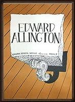 ポスター エドワード アーリントン 1986 額装品 ウッドハイグレードフレーム(オーク)