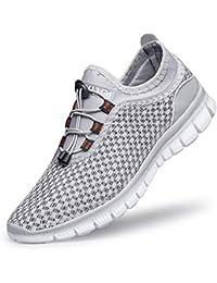 7e4de4246db57 [Refoni] スニーカー スポーツシューズ ランニングシューズ ウォーキングシューズ トレーニングシューズ メンズ レディース 運動靴 ジョギング  ジム 軽量 通気 通学…