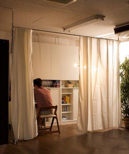 RoomClip商品情報 - 突っ張り目隠しカーテン(5カラー) (オフホワイト)