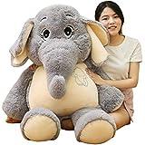 ぬいぐるみ象抱き枕ぬいぐるみかわいい動物の人形睡眠コンフォートクッション枕