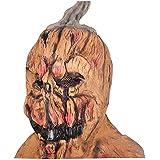 ハロウィンマスクホラーマスクパンプキンマスクいたずらマスク