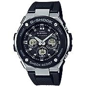 [カシオ]CASIO 腕時計 G-SHOCK ジーショック Gスチール  電波ソーラー GST-W3...
