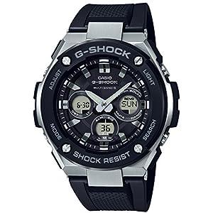 [カシオ]CASIO 腕時計 G-SHOCK ジーショック Gスチール 電波ソーラー GST-W300-1AJF メンズ