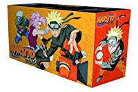 Naruto Box Set 2: Volumes 28-48 with Premium