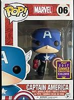 Funko - Figurine Marvel - Captain America Black & Blue Exclu pop 10cm - 0889698203968