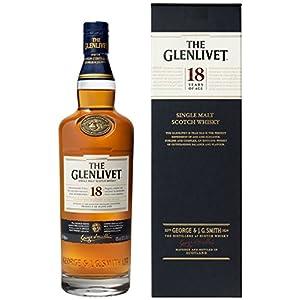 ザ・グレンリベット 18年 700ml ブレンデッドスコッチウイスキー ギフト箱入り スコットランド【国内正規品】