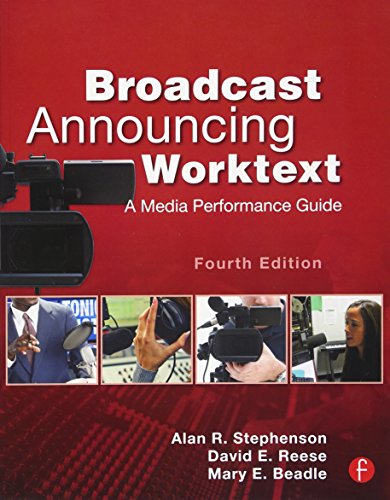 Download Broadcast Announcing Worktext 0240818601
