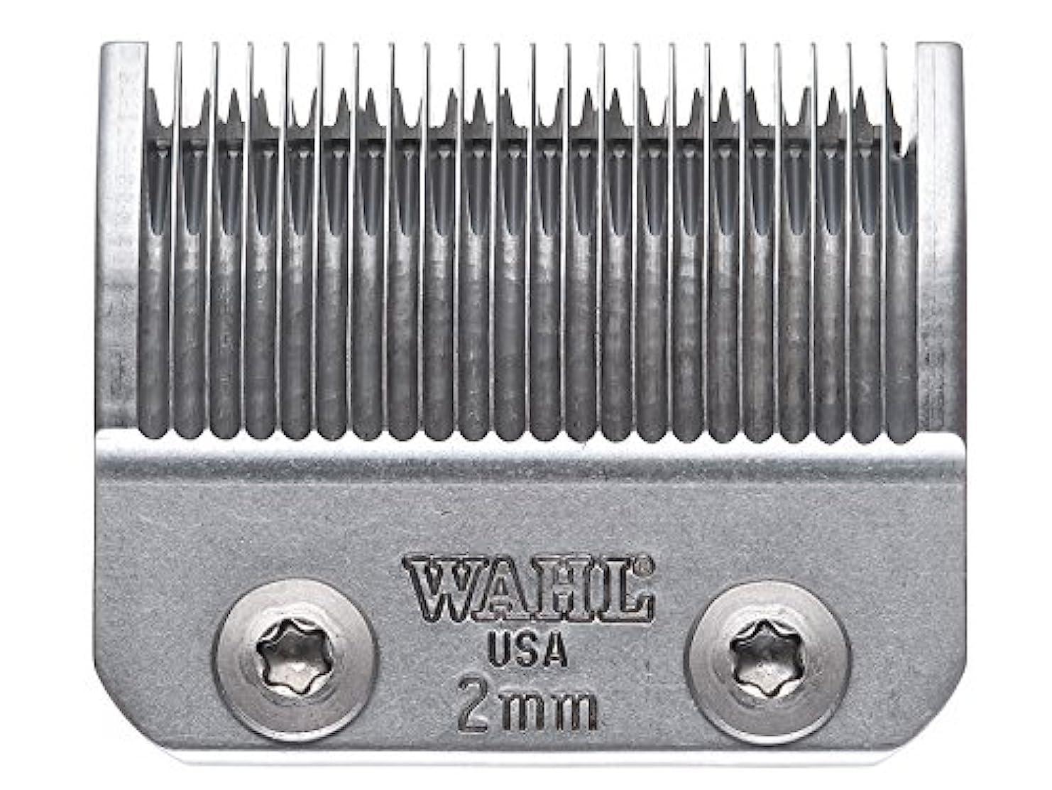 ファンしがみつく放置WAHL アンバサダー 専用替刃 2mm