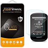 (2 Pack) Supershieldz for Garmin Edge 530 and Edge 830 Tempered Glass Screen Protector, 0.33mm, Anti Scratch, Bubble Free