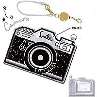ダイカットパスケース(カメラ)79183 定期入れ/パスケース