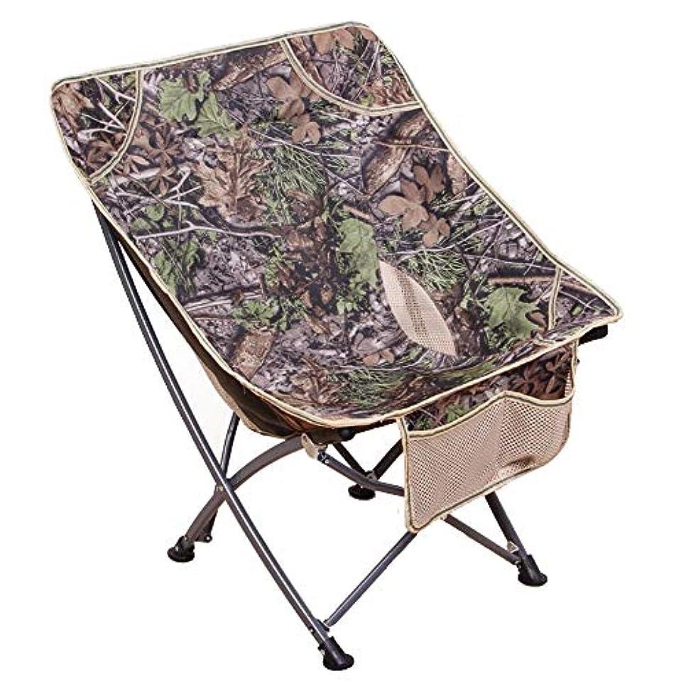 細心の鳥なす屋外キャンプチェア 折りたたみ椅子 光 ポータブル 釣り ビーチ ハイキング ピクニック&バックパック ガーデンバーベキュー