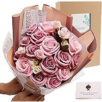 (Bonne-Graine) ソープフラワー フラワーソープ 花束 女性 誕生日プレゼント 結婚祝い に