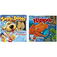 Soggy DoggyボードゲームとHungry Hungryカバボードゲームバンドル