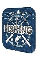 壁時計 wall clock Angler Home Go fishing Sport Fishing Deep Sea