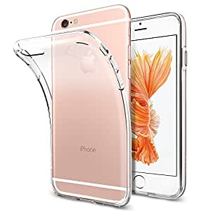 【Spigen】iPhone6s ケース / iphone6 ケース [ クリア 超薄型 超軽量 ] リキッド・クリスタル アイフォン 6s / 6 対応 (クリスタル SGP11596)