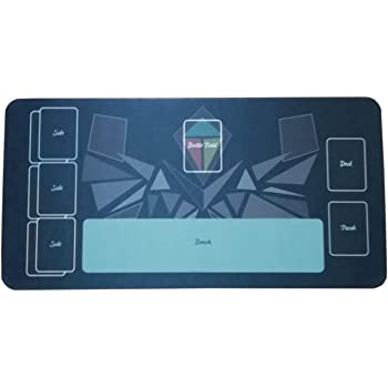 テネセシート ポケモンカード 橡胶游戏垫天空单筒适用带收纳盒