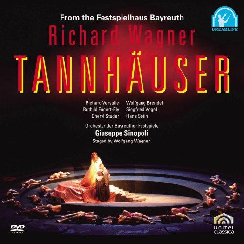ワーグナー:歌劇「タンホイザー」全曲/シノーポリ指揮 [DVD]