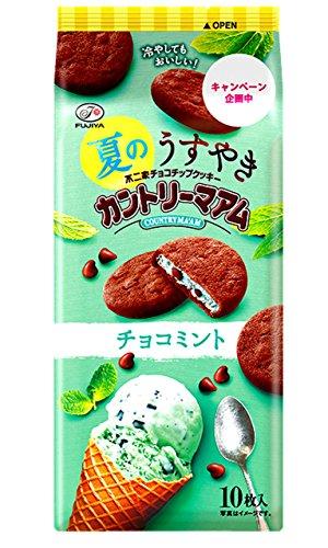 不二家 夏のうすやきカントリーマアム(チョコミント) 10枚×5袋