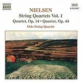 Nielsen: String Quartets Vol. 1 - Quartet, Op. 14 & Quartet, Op. 44 by NIELSEN (1999-05-11)