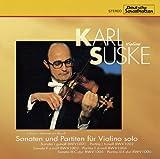 バッハ:無伴奏ヴァイオリンのためのソナタ&パルティータ全曲(2CD)