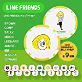 【エンタメゴルフ コンペセット 景品】LINE FRIENDS(ラインフレンズ) ゴルフマーカー