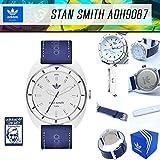 ADIDAS ORIGINALS アディダス「スタンスミス STAN SMITH」腕時計 ADH9087 メンズサイズ ホワイト ブルー 白 青 スポーツウォッチ アナログ メンズサイズ [並行輸入品]