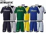 ATHLETA(アスレタ) ジュニアリバーシブルプラクティス上下セット サッカーウェアBLK/GRYT 150cm